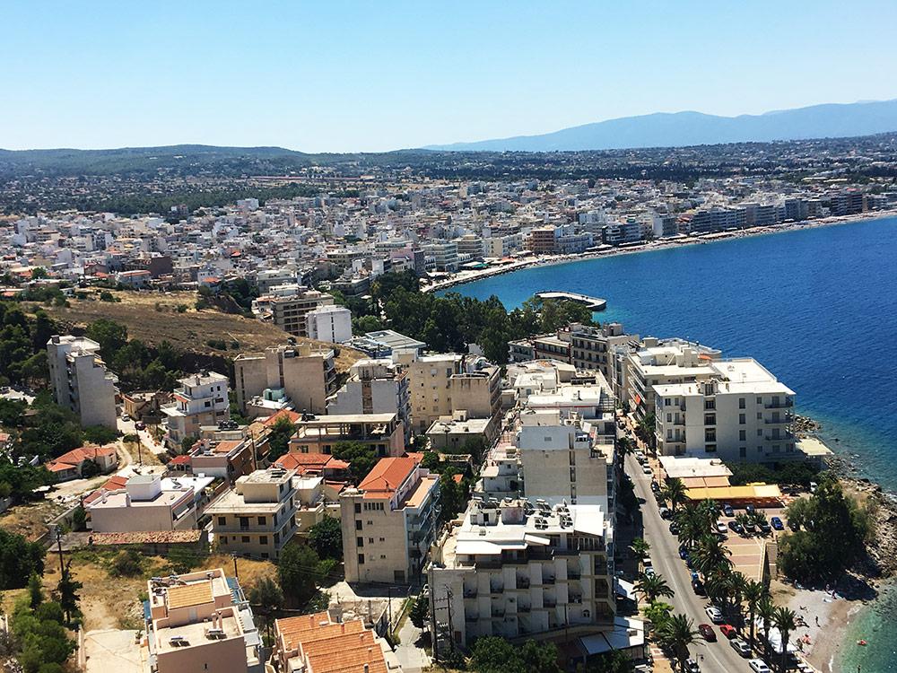 3-Bedroom Sea-Front House in Loutraki Greece