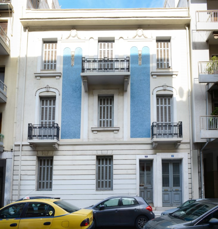 Residential Building in Neapoli Exarcheia Athens